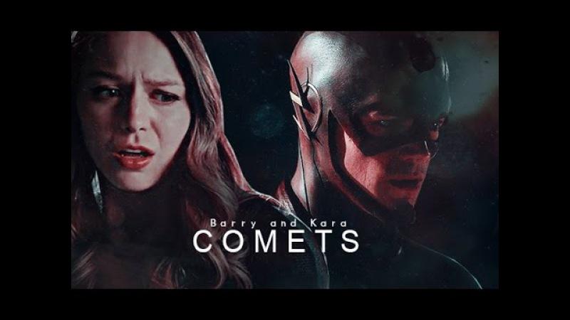 Barry and Kara | The Flash | Флэш | Супергерл