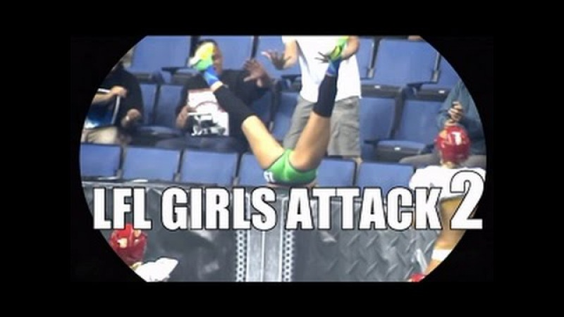 LFL legend football league GIRLS ATTACK VOL 2 : Hits and fights !