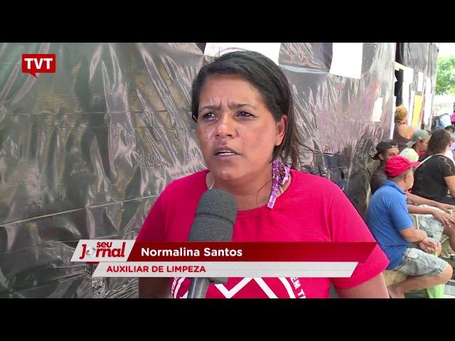 Acampamento do MTST na Paulista ganha cada vez mais apoio