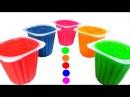 Learn Colours With Yogurt Clay Slime Surprise The Good Dinosaur Hello Kitty Bart Simpson Zhu Zhu Pet