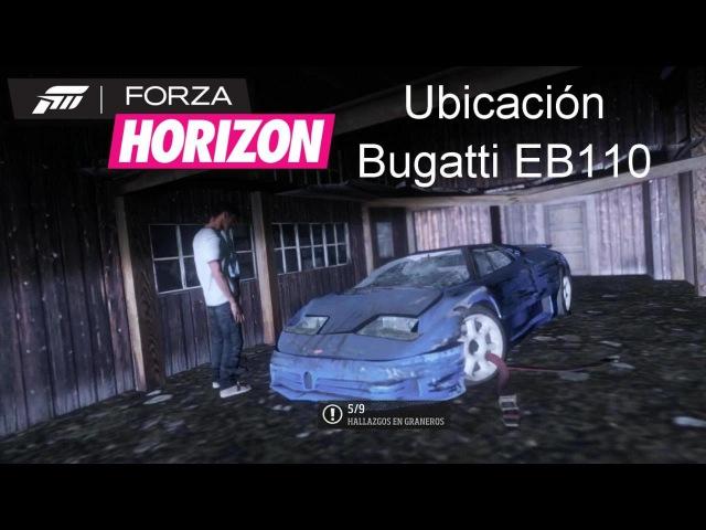 Granero 5 Bugatti EB110 Ubicación Gameplay