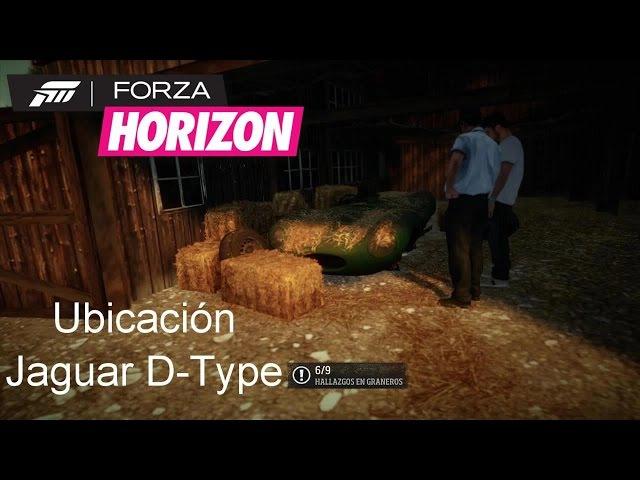 Granero 6 Jaguar D-Type Ubicación Gameplay