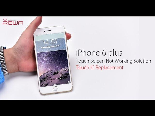 IPhone 6 Plus Не работает сенсор, перепайка микросхемы