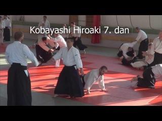 Kobayashi Hiroaki 7. dan - Spring Aikido seminar Hungary 2016. - Katate ryotedori & Kumi tachi