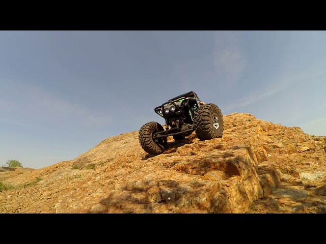 The Conquest of the Prairie Axial Wraith 1/10 4WD Rock Racer