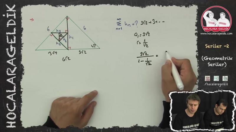 Seriler -2 (Geometrik Seriler) - Matematik - HG