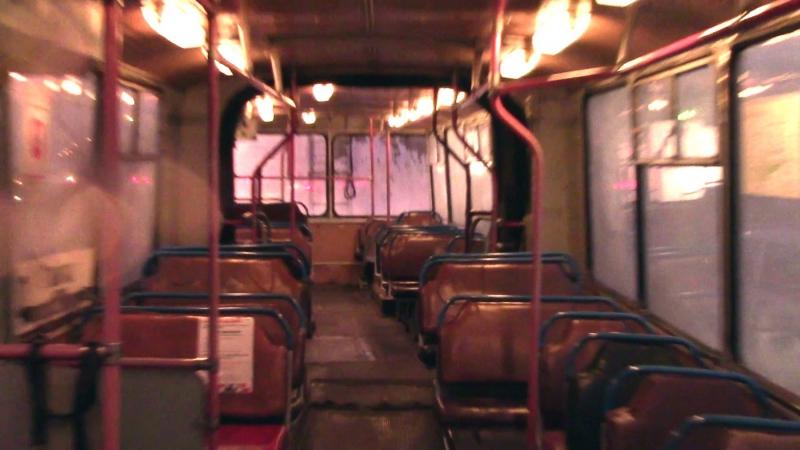 Поездка на троллейбусе Зиу 620520 г Тольятти разговор с водителем