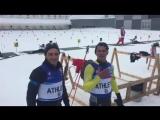 Сборная Ливана по биатлону поздравляет россиян с 23 февраля!