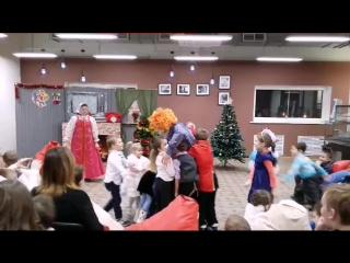 Новогодняя детская ёлка в Леруа Мерлен Тольятти