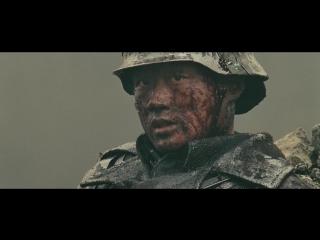 Цветы войны (2011). Бой отряда японцев с китайским снайпером