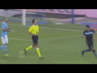 Miroslav Klose asks referee to disallow handball goal
