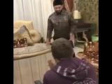 [Kavkaz vine] уникальные кадры с репетиции Михаила Галустяна с Рамзаном Кадыровым сценки для КВН ???