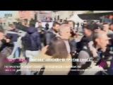 Первые задержания на митинге против сноса