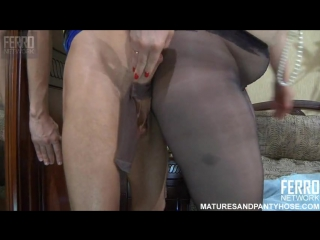 Ferro network_ flo matures and pantyhose (mature, milf, bbw, мамки порно со