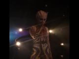 Выступление на презентации M.A.C x Brooke Candy