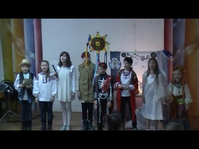 Щедрик100challenge Колядники Центральної дитячої бібліотеки Львова
