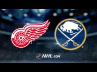 Detroit Red Wings vs Buffalo Sabres NHL Game Recap