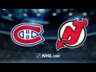 Montreal Canadiens vs New Jersey Devils NHL Game Recap