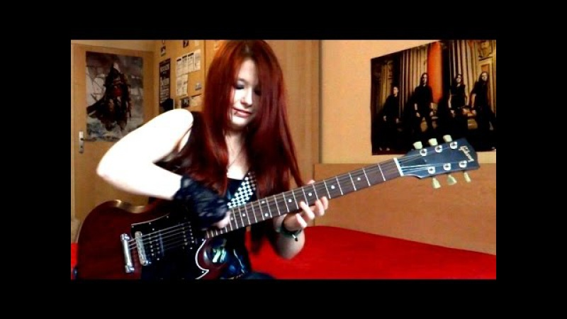 BULLET FOR MY VALENTINE Your Betrayal GUITAR COVER by Jassie J