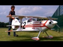 HUGE RC PITTS SPEZIAL S1 SCALE 1 2 MODEL AIRPLANE DEMO FLIGHT Pitts Meeting Vechta Germany 2016