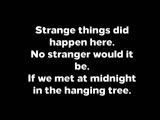 Jennifer Lawrence - Hanging Tree (Lyrics)