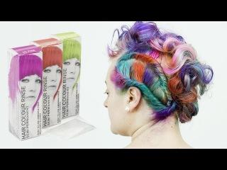 Stargazer Semi Permanent 'Peacock' Hair Colours Tutorial