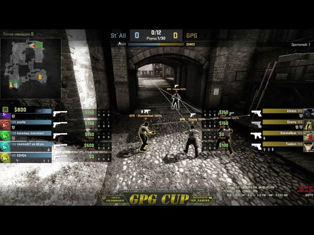 GPG Free CUP 1 Stey Alive vs GPG