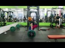 Julia Zaugolova - deadlift 170 kg (374 lbs) x 10 reps