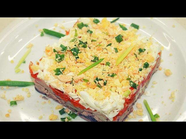 Крецепты салатов с фото