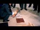 Краш-тест плитки из полимер песчаного композита ГК СТП