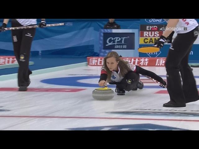КЁРЛИНГ. Пекин (Китай). Женщины. Финал. Россия - Канада / World Women Curling Championship 2017