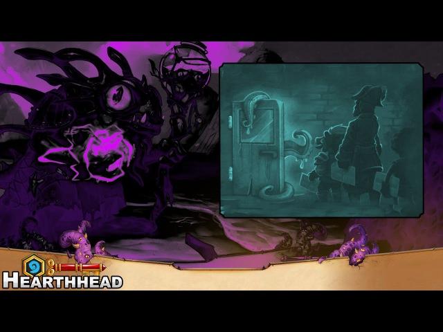 SHADOWFORM MORGL - Servant of Yogg-Saron Tryouts Hearthstone Gameplay