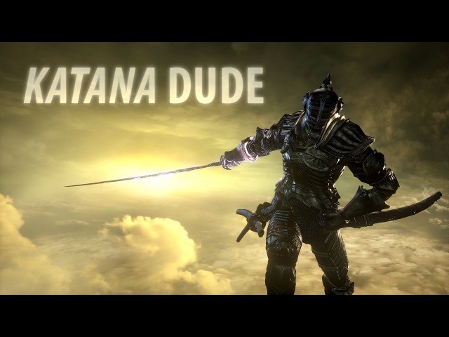 Dark Souls 3: Katana Dude