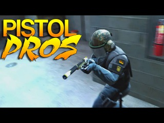 CS:GO - Pistol PROS! #25