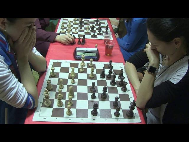 2016 10 13 WGM Gorjachkina GM Kostenjuk Ostankino Women Blitz