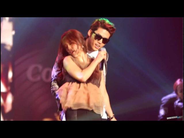 [Fancam] 121129 Coway Concert 내귀에 캔디 택연(Taecyeon テギョン 2pm)