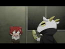 прикол смешной момент из аниме Детектив Кутикул Инаба / Cuticle Tantei Inaba