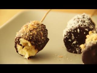 Десерты: как приготовить банановые ломтики в шоколаде?