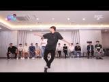 Бэкхен танцует на Infinity Challenge Вырезка