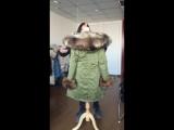 Fandy Lokar мех парка зимних женщин пиджак тепло долго военных парка очень рекс кролик меха капюшон пальто подлинного енот меха