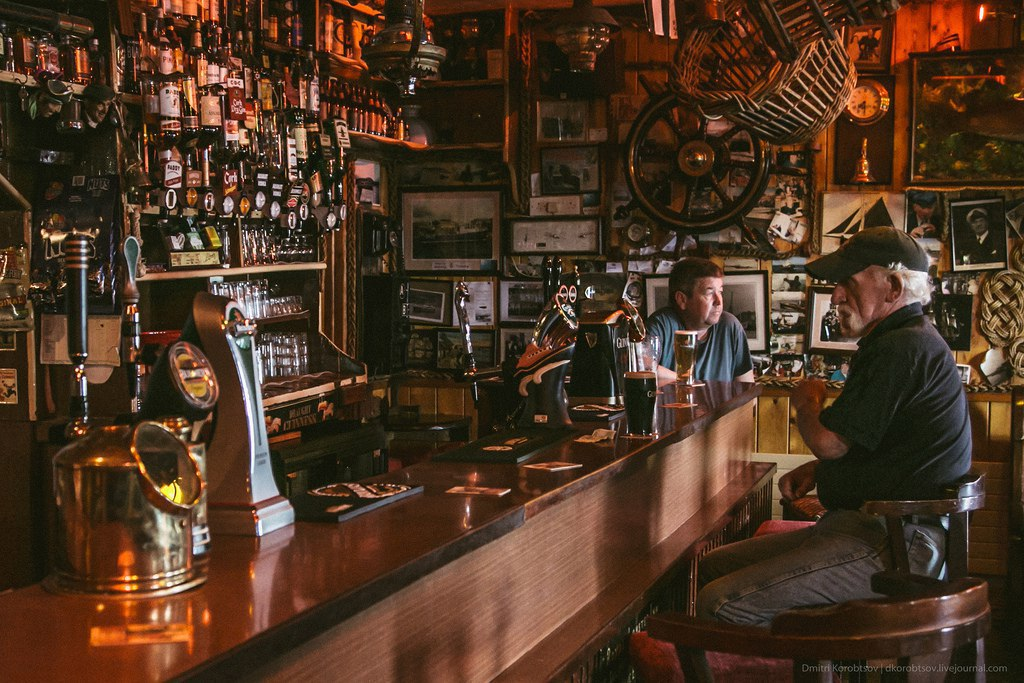 Атмосфера ирландских пабов