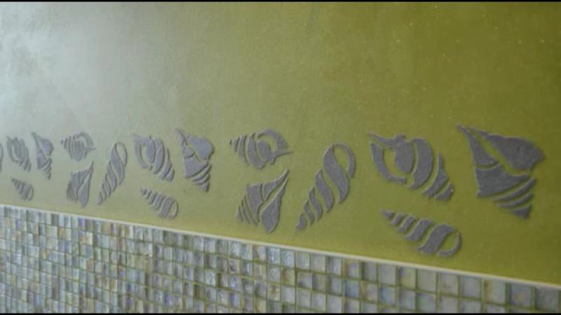Litokol . Декоративные смеси и трафареты.
