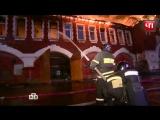 Пожарные потушили пылавшее здание Бадаевского пивзавода в центре Москвы
