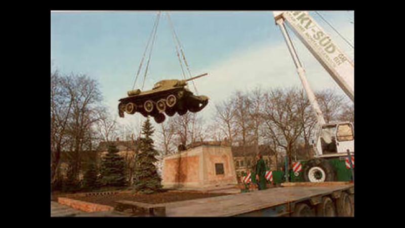 Назад в ГСВГ.Эпизод 106. Брошенные в Германии Т-34