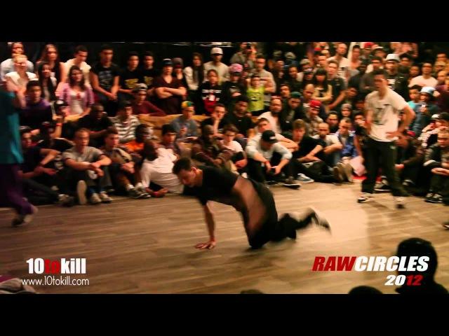 Alcolil Aduh Vs Xisco Shane - Quarter-final - Raw Circles 2012