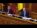 Парубій вимагає від «Опозиційного блоку» виступати в парламенті українською мо