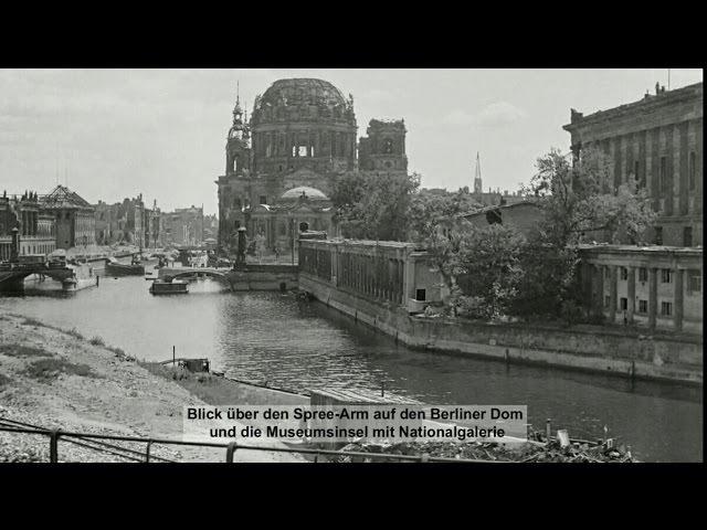 Fahrt mit der S-Bahn durch das Berlin von 1947 - Fotos Harry Croner | Stadtmuseum Berlin