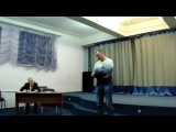 Михаил Соболев читает стихотворение о погибшем товарище