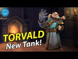 New Frontline Torvald Is Here! HIS ULTIMATE IS INSANE! (Paladins Patch OB42)