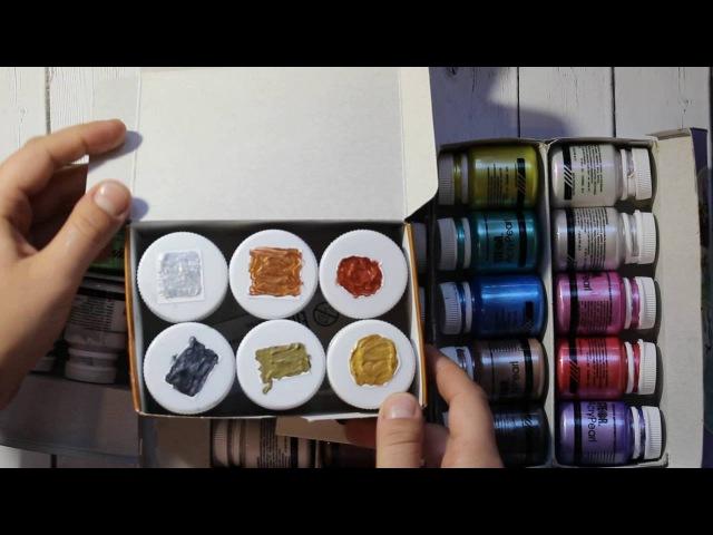 Скрап-покупки с Сима-Ленд. Обзор материалов для Микс-медиа